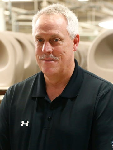 Paul Stover is the vice president of manufacturing
