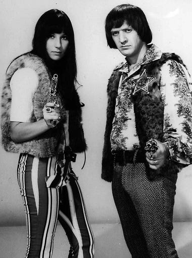 Cher came to fame in the mid-'60s after partnering with Sonny Bono. The duo recorded hit songs including 'Bang Bang (My Baby Shot Me Down).' They were married from 1969 until 1975.
