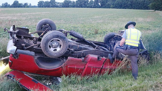 Charges are pending while the rollover crash in Jackson Township is under investigation. Authorities suspect alcohol was a factor in the crash that resulted in non-life-threatening injuries for the driver.