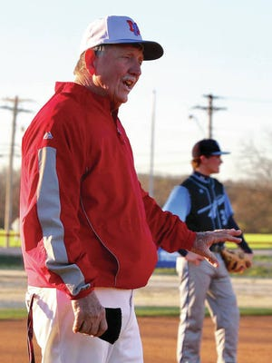 Legendary Mt. Pleasant baseball coach Eddie Bassham, lured out of retirement last spring, is back with the Tigers for a second season.