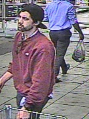 Springettsbury Township Police are asking for help in identifying this man, suspected of theft at the Walmart.