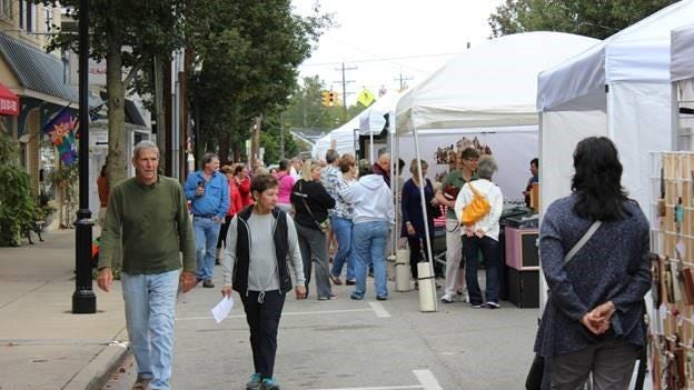 A popular outdoor art and fine crafts show held in downtown Milford every September has been canceled due to the COVID-19 pandemic.