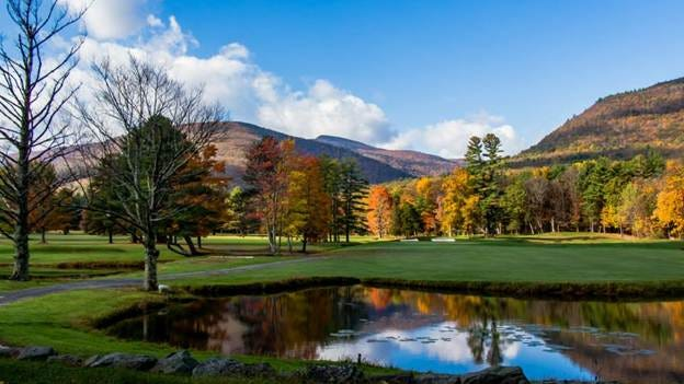 This photo by Saugerties resident Keith Kopycinski taken at the Rip Van Winkle Country Club in Palenville won first place in Central Hudson's annual Fall Foliage Photo Contest.