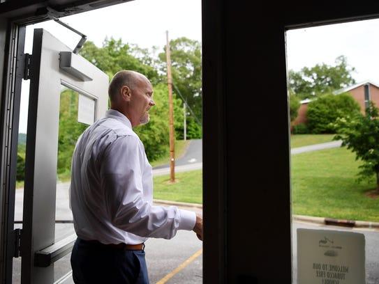 Chris Baldwin, Macon County Schools superintendent,