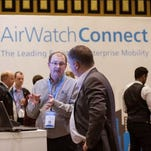 AirWatch Connect explained at an industry conference