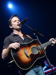 ABC TV's Nashville cast member Charles Esten performs at the St. Jude Country Music Marathon & Half Marathon's post race concert April 26, 2014 in Nashville.