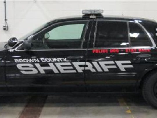 The 2011 Ford Crown Victoria Squad Car used by Brown