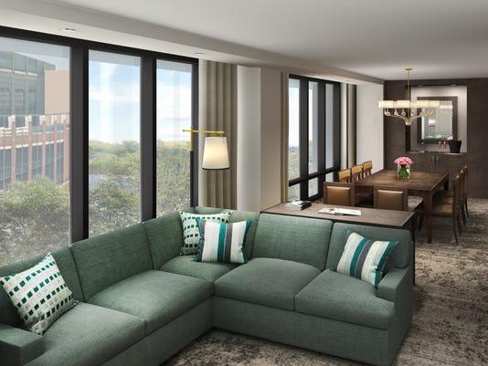 Lodge Kohler corner suite