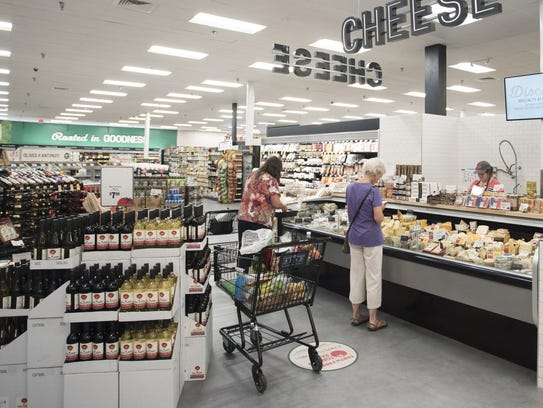 Earth Fare has a new, brighter look after recent renovations.