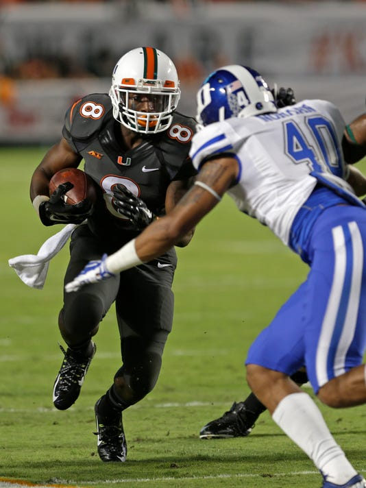 Duke Miami Football