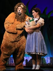 Victor Legarreta as the cowardly lion channels movie