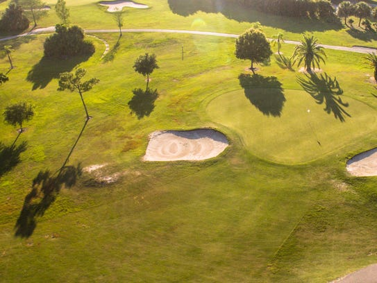 Golf is a popular pastime in Port St. Lucie. THe area
