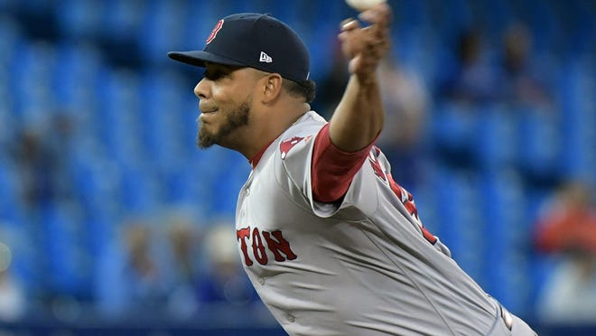 Red Sox left-hander Darwinzon Hernandez has recovered from COVID-19.