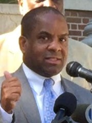 Mount Vernon City Council President Marcus Griffith