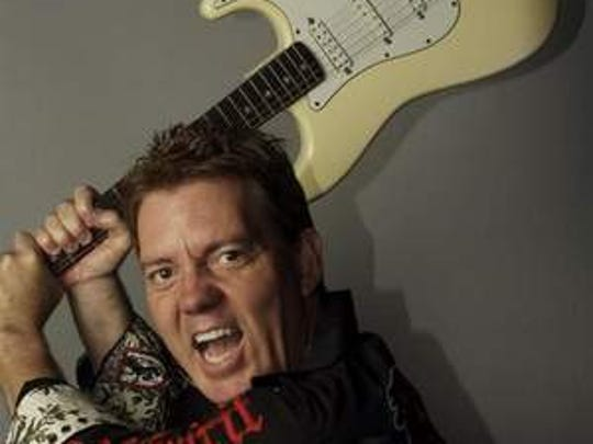 Comedian and musician Brian Haner performs this weekend at the Funny Bone Comedy Club.