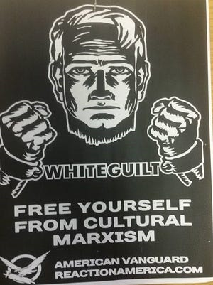 This sign was posted at Stanley Coulter Hall at Purdue University, according to faculty.