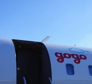Gogo's test jet.