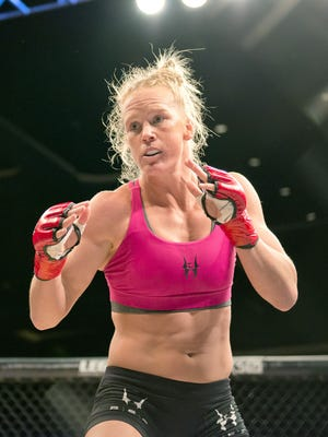 Holly Holm is 9-0 in UFC as she prepares to face Ronda Rousey.