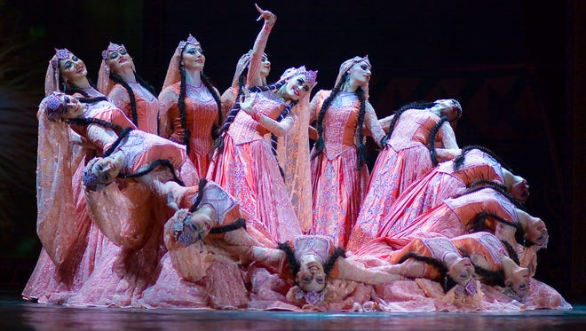 This year's special performance for the Community Concert Series is the 40-member Lezginka dance troupe performing Monday, March 19.
