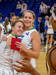 Sixth-year FGCU senior Taylor Gradinjan is a favorite
