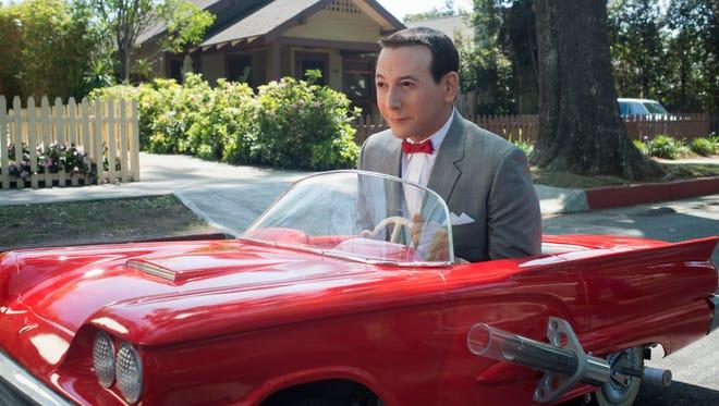 """Pee-wee Herman (Paul Reubens) is up to old tricks in """"Pee-wee's Big Holiday."""""""