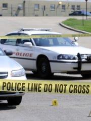 Crime scene in Shreveport.