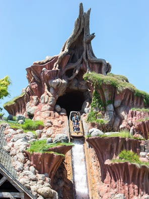 Honorable mention: Splash Mountain | Though it could