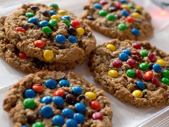 M&M cookies from Little Sister's Kitchen Confections