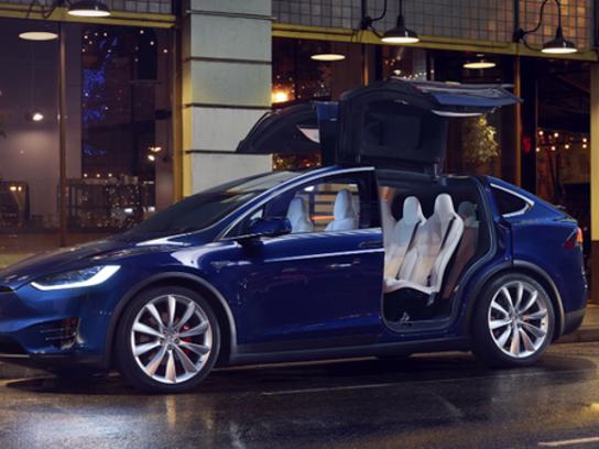 Tesla's Model X.