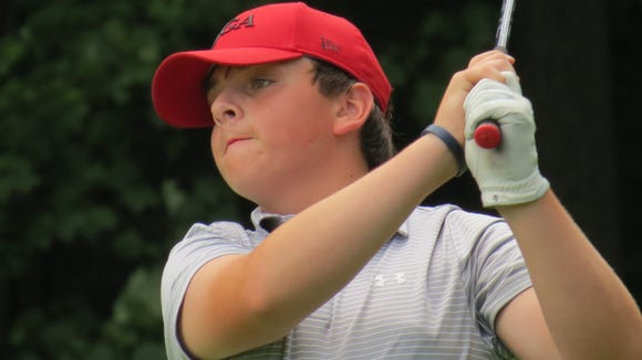 Ridgewood's Charlie Cummings was runner-up at the 47th New Jersey Boys Championship.