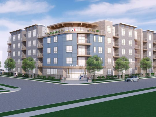 A Madison area developer wants to redevelop an area along William Charles Court and Marvelle Lane into 345 apartment units.