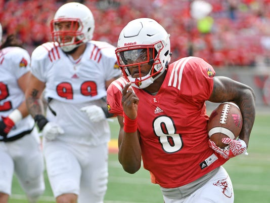 NCAA Football: Louisville Spring Game