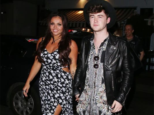 Jesy Nelson and Jake Roche