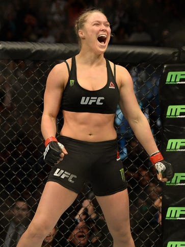 Ronda ROusey retained her UFC bantamweight title and