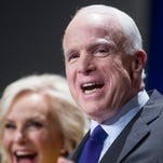 Sen. John McCain refusing to talk about Donald Trump, for now