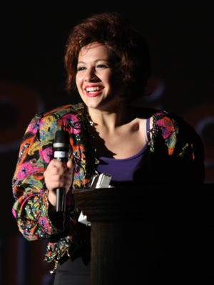 """Gianna Prignano won the 2015 Metro Award for outstanding leading actress for her portrayal of Mrs. Wilkinson in Archbishop Stepinac's production of """"Billy Elliot."""""""