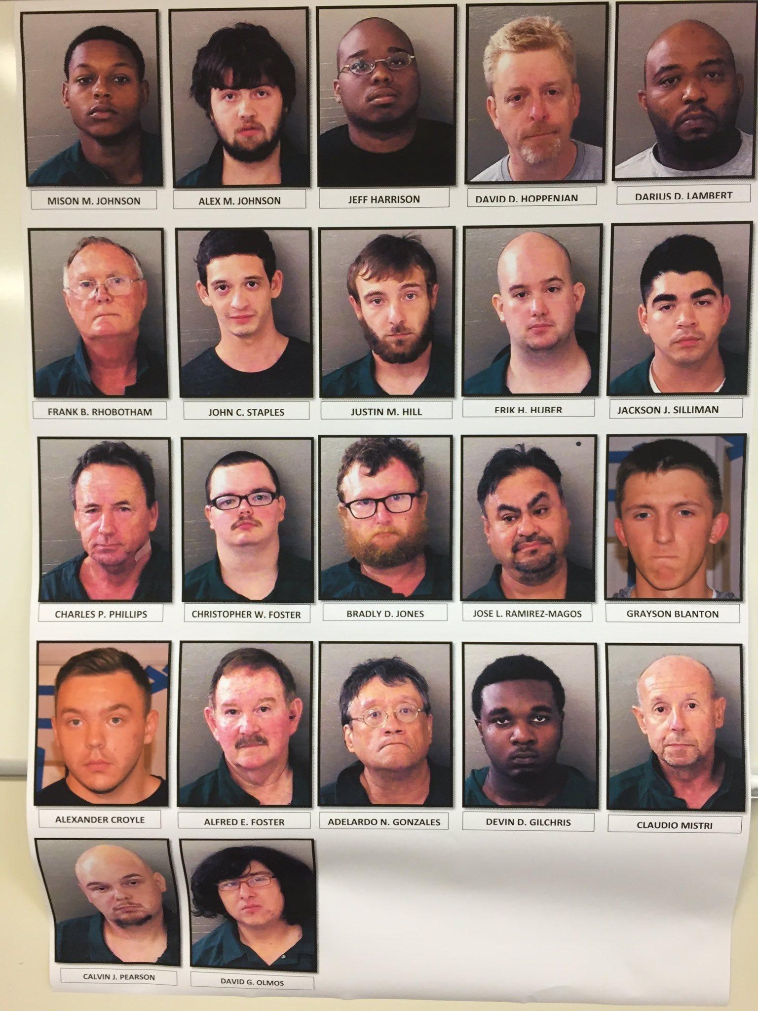 24 arrested internet sex scandal