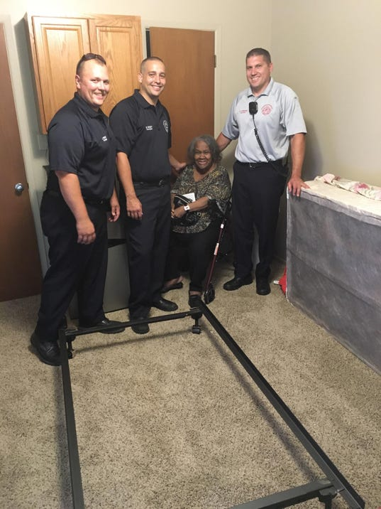 Fire Fighters Help Local Senior