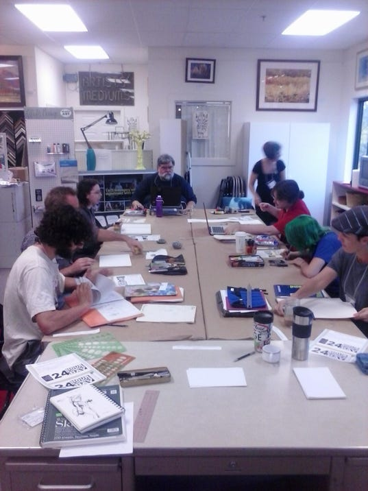 comics day at Artists Mediums