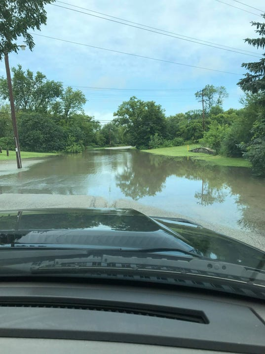 Root River Parkway flooding