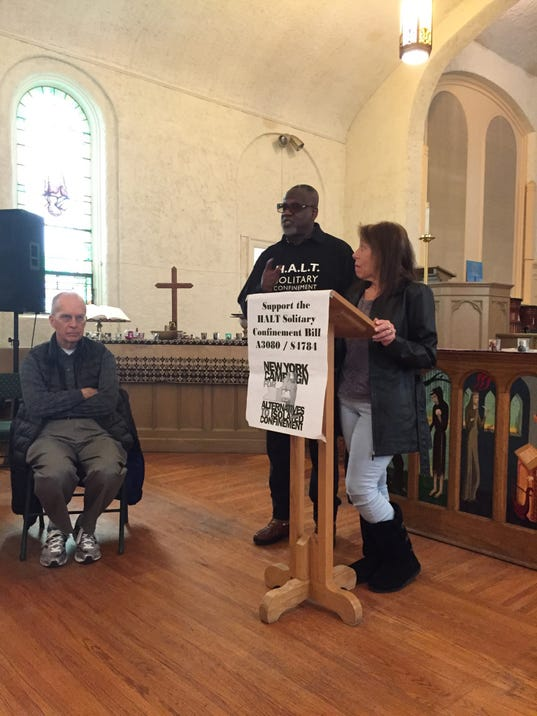 Speaking against solitary confinement