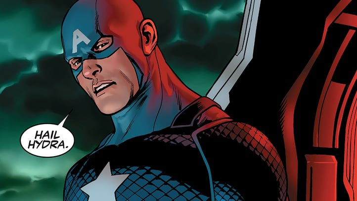 """Steve Rogers says two jarring words for every comics fan in the debut issue of """"Captain America: Steve Rogers."""""""