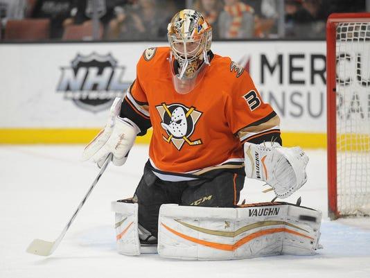 USP NHL: LOS ANGELES KINGS AT ANAHEIM DUCKS S HKN USA CA