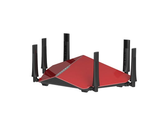 The D-Link Wireless AC3200 Tri-Band Gigabit Router.