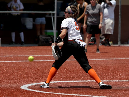 Petrolia Archer City Softball Playoff Game 2