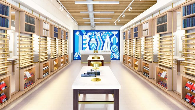 Wisconsin's first Warby Parker fashion eyeglasses store is set to open Friday in Milwaukee's Historic Third Ward.