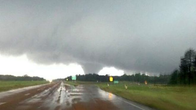 A tornado is shown in this file photo.