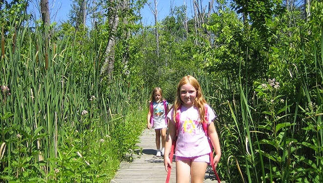 Bird watching, wildflower viewing and hiking are just some of the peaceful ways to enjoy Haven Hill Natural Area.