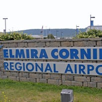 United Airlines will discontinue service at the Elmira Corning Regional Airport in April.