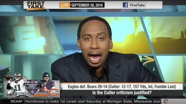 Stephen A. Smith goes on epic Jay Cutler rant